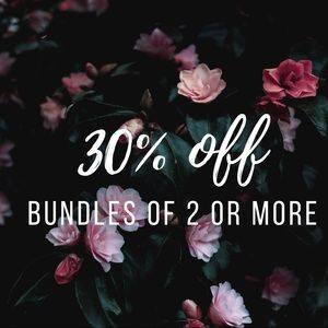 Bundle any 2 items in my shop and get 30% off!